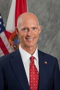 Rick Scott official portrai PETA Asks Governor to Veto Harmful Animal Dyeing Bill