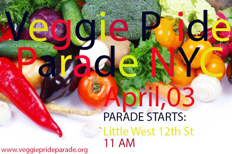 Veggie Pride NYC !!!